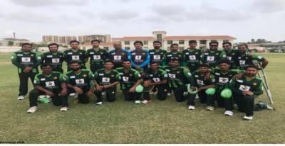 پاکستان کی خصوصی افراد کی کرکٹ ٹیم ڈس ایبلٹی ٹی ٹوئنٹی سیریز میں شرکت کیلئے انگلینڈ روانہ