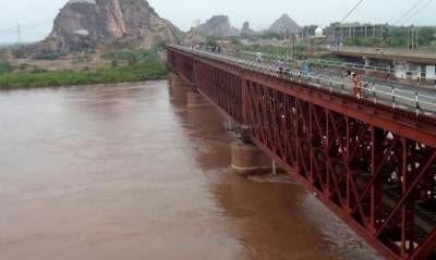 مون سون بارشیں ،دریائے سندھ اور چناب میں نچلے درجے کا سیلاب