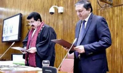 چیئرمین سینیٹ صادق سنجرانی اور ڈپٹی چیئرمین سلیم مانڈوی والا کے خلاف عدم اعتماد کی تحاریک ناکام