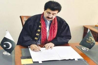 چیئرمین سینیٹ کا دنیا بھر کی پارلیمنٹس کے سپیکروں اور پریزائیڈنگ افسروں کوکشمیر کی موجودہ صورتحال پر خط