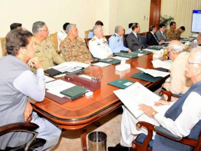 بھارت کا کلسٹر بم حملہ؛ وزیراعظم کی زیر صدارت قومی سلامتی کا ہنگامی اجلاس