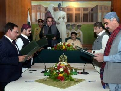 سندھ کابینہ میں توسیع، مزید 4 وزراء نے حلف اٹھالیا