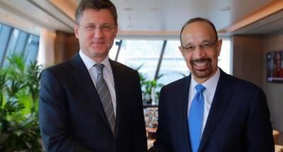 سعودی وزیر توانائی کا روسی ہم منصب سے تیل کی مارکیٹ پر تبادلہ خیال
