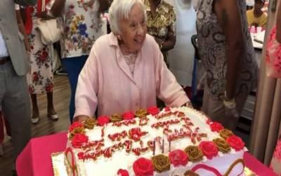 شادی نہ کرنا میری طویل عمر کا راز ہے، 107سالہ خاتون کا انکشاف