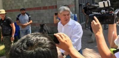 سیکورٹی فورسز نے کرغزستان کے سابق صدر کو گرفتار کر لیا گیا