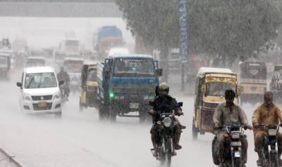 کراچی میں 9 سے 12 اگست تک شدید بارشوں کی پیشگوئی
