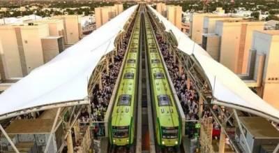 سعودی عرب:مقامات مقدسہ کے درمیان چلنے والی تیز رفتار ٹرین کی تیاریاں مکمل