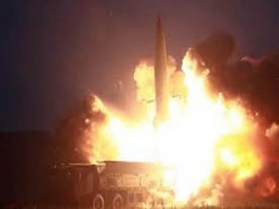 شمالی کوریا ، ایک ہفتے میں پانچویں مرتبہ میزائل تجربہ