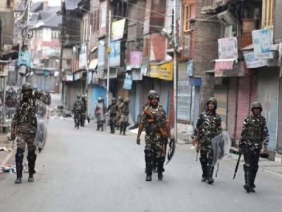 مقبوضہ کشمیر :بھارتی یوم آزادی سے قبل پابندیوں کاسلسلہ مزید سخت کر دیا ، ابلاغ کی معطلی ، کرفیو دسویں روز بھی جاری