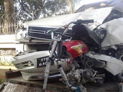 حب میں ٹریفک حادثہ، 3 افراد جاں بحق