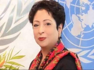 کشمیر پر اقوام متحدہ کے ممبران ممالک میں بہت تشویش پائی جاتی ہے:ملیحہ لودھی
