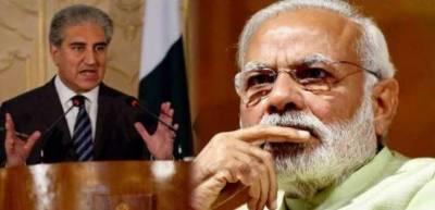 پاک بھارت مذاکرات میں سب سے بڑی رکاوٹ نریندر مودی ہے: شاہ محمود قریشی
