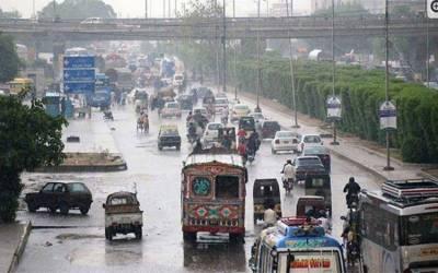 کراچی سمیت ملک کے مختلف شہروں میں بارش کا امکان