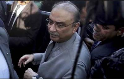 آصف زرداری بکتر بند گاڑی میں اڈیالہ جیل راولپنڈی منتقل