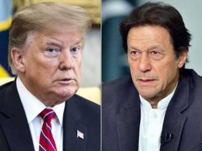وزیر اعظم کا صدر ٹرمپ کو ٹیلی فون، مقبوضہ کشمیر کی صورت حال پر تبادلہ خیال