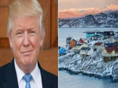 صدر ٹرمپ دنیا کا سب سے بڑے جزیرے گرین لینڈ کو خریدنے کے خواہاں