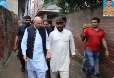 گورنر پنجاب کی لانس نائیک تیمور شہید کے گھر آمد،اہلخانہ سے تعزیت
