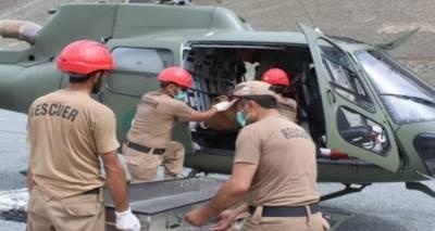 گلگت: لاپتہ ہونے والے تینوں کوہ پیماﺅں کو ریسکیو کرلیا گیا