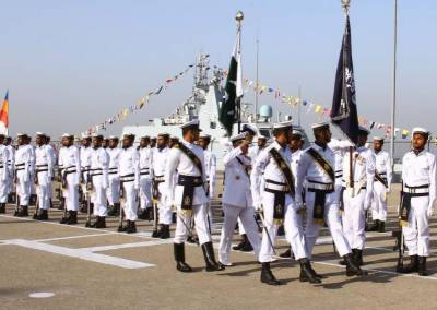 صدرِپاکستان کی جانب سے پاکستان نیوی کے آفیسرز اور سیلرز کے لئے ملٹری اعزازات کی منظوری