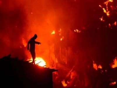 بنگلہ دیش میں آتشزدگی، جھگیاں جلنے سے 10ہزار افراد بے گھر