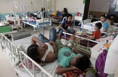 فلپائن میں ڈینگی بخار سے ہلاکتیں 800تک پہنچ گئیں