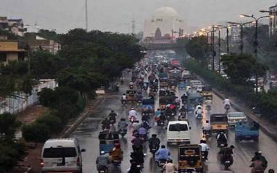 کراچی : آج مطلع جزوی ابرآلود رہے گا: محکمہ موسمیات