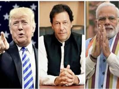 پاک بھارت وزرائے اعظم سے بات چیت مفید رہی:ڈونلڈٹرمپ