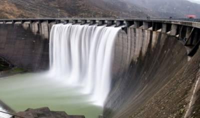 تربیلا ڈیم میں پانی کی سطح انتہائی بلند,مزید پانی ذخیرہ کرنے کی گنجائش ختم