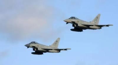 یمن کے علاقے صعدہ میں اتحادی طیاروں کے ہاتھوں حوثیوں کا عسکری کیمپ تباہ