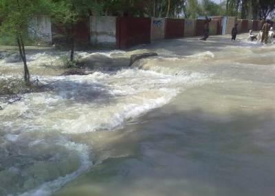 راجن پور میں سیلاب نے تباہی مچا دی