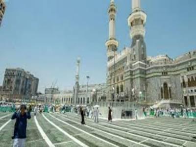 مسجد حرام کے اطراف رقبے کے اضافے کے لیے جاری منصوبے کا 85% کام مکمل
