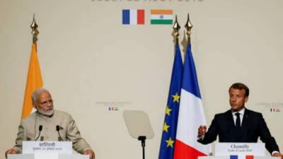 بھارت کو پاکستان سے مل کر مسئلہ کشمیر کا حل تلاش کرنا ہو گا: فرانسیسی صدر