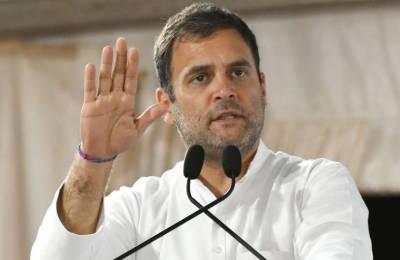 کانگریس رہنما راہول گاندھی کا آج مقبوضہ کشمیر جانے کااعلان