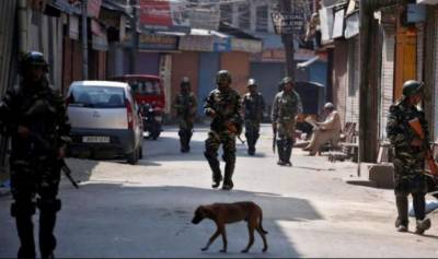 مقبوضہ کشمیر میں کرفیو اور لاک ڈاؤن21 واں روز بھی جاری،جگہ جگہ بھارتی فوجی تعینات