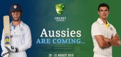 آسٹریلیا اور ڈربی شائر کرکٹ ٹیموں کے درمیان تین روزہ ٹور میچ 29 اگست سے شروع ہوگا