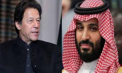عمران خان اور سعودی ولی عہد کے درمیان ٹیلی فونک رابطہ، کشمیر سے متعلق گفتگو