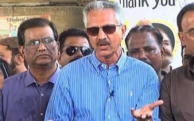 میئر کراچی نے مصطفیٰ کمال کو ڈائریکٹر گاربیج کےعہدے سے معطل کر دیا