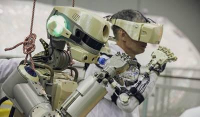 انسان نما روسی خلائی روبوٹ فیڈر خلائی سٹیشن پہنچ گیا