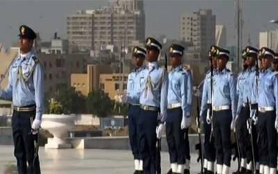 یوم دفاع پاکستان: مزار قائد پر پر وقار تقریب، چاق چوبند دستے کی سلامی