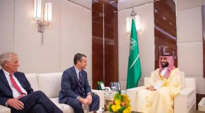 امریکی سینیٹرز کے وفد کی جدہ میں سعودی ولی عہد سے ملاقات