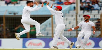 بنگلہ دیش کو شکست، افغانستان کی ٹیسٹ کرکٹ میں فتح