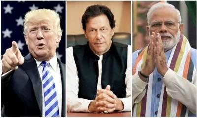 کشمیر کے معاملے پر پاک-بھارت کشیدگی میں کمی آئی ہے: ٹرمپ کا دعویٰ