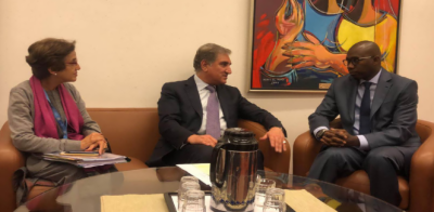 بھارت کے اقدامات انسانی حقوق اوراقوام متحدہ کی سلامتی کونسل کی قراردادوں کے منافی ہیں: شاہ محمودقریشی