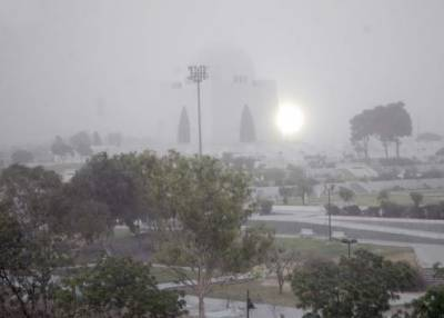 بحیرہ عرب میں ہوا کا کم دباؤ,کراچی میں سمندری ہوائیں معطل