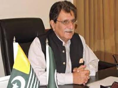 کشمیر پاکستان کی شہ رگ ہے:راجہ فاروق حیدر خان