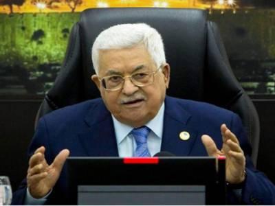 اسرائیل کی طرف سےمقبوضہ مغربی کنارے کےعلاقوں کےانضمام کی صورت میں تمام معاہدے ختم کردینگے:محمودعباس
