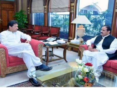 وزیراعلیٰ پنجاب کی وزیراعظم سے ملاقات، صوبے کی مجموعی صورتحال زیرِ بحث