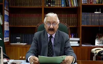 حکومت کا چیف الیکشن کمشنر سردار رضا کیخلاف ریفرنس دائر کرنیکا فیصلہ