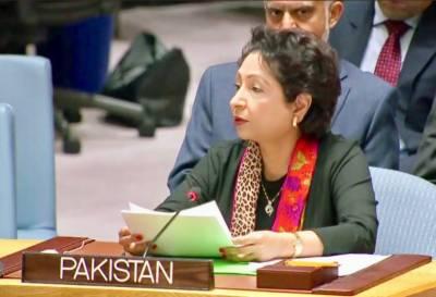 افغانستان کے مسئلے کا کوئی فوجی حل نہیں,اسے مذاکرات کے ذریعے حل کرنا چاہئے:ملیحہ لودھی