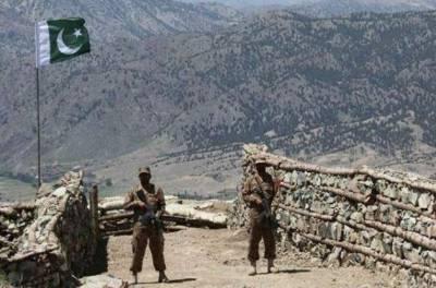 مغربی سرحد پر دہشت گردوں کی فائرنگ،پاک فوج کے 4 جوان شہید